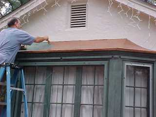 Copper paint roofs: Dormers, bays and other roofing styles ...