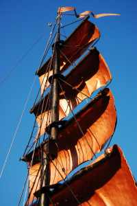 Copper sails