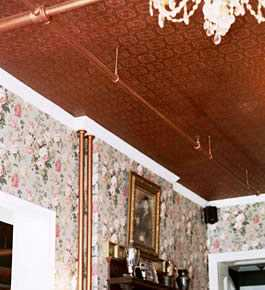 Copper ceiling